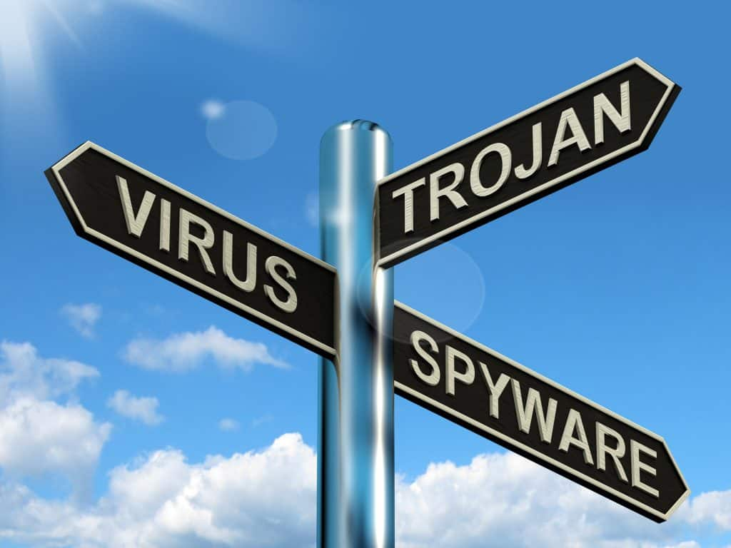 virus-trojan-spyware-signpost-showing-internet-or-computer-threats_MymqFVvO-1024x768 Computer Repair in Sarasota Florida: How Remote Virus Removal Helps People Get Back to Work