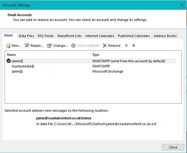 What to do if you cannot send and receive email in Outlook
