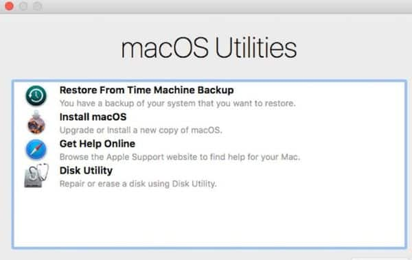 Perform a clean install of Mac OS
